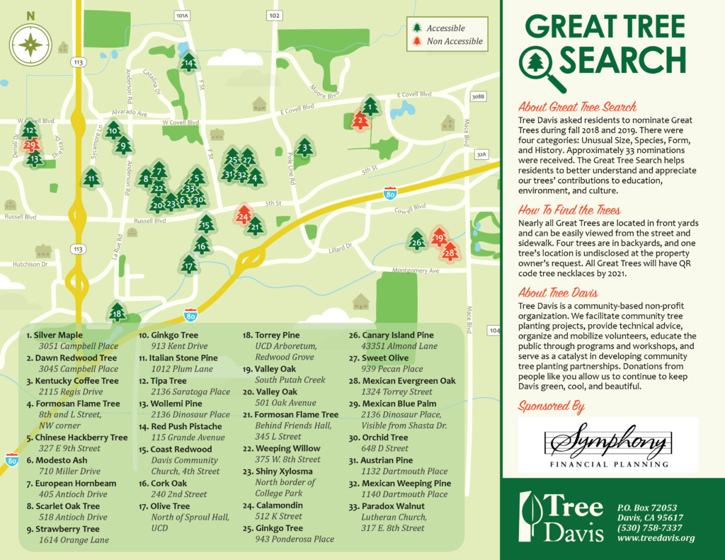 Great Tree Search Map, page 1